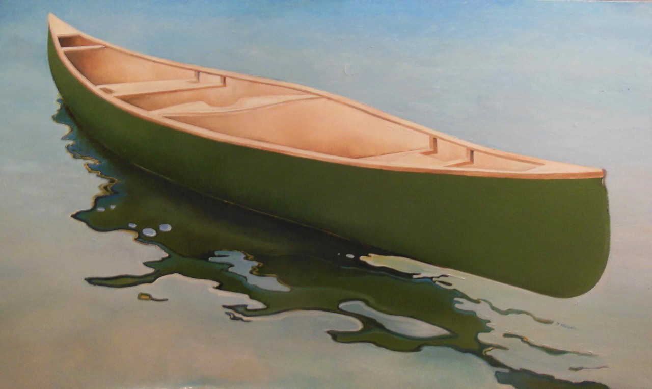 "Respite, Too, oil on canvas 36"" x 54"", $2400"